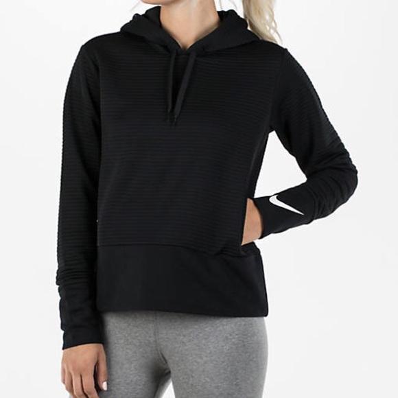 nike quilted hoodie